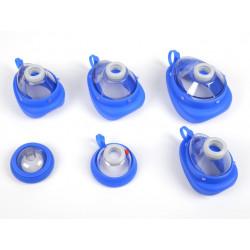 MASCHERINA AMBU BABY N 0 - neonati/prematuri - blu