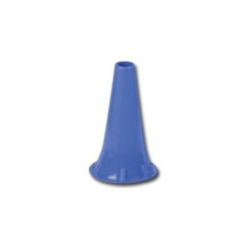MINI SPECULUM AURICOLARE MONOUSO 4 mm - blu