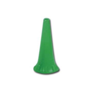 MINI SPECULUM AURICOLARE MONOUSO 2,5 mm - verdi