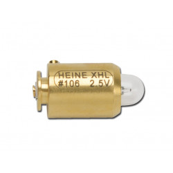 LAMPADINA HEINE 106 2.5V - per oftalmo Mini 3000