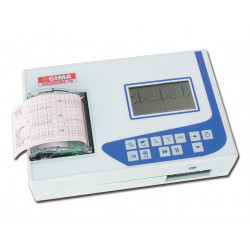 ECG CARDIOGIMA 1M - 1-3 canali - con monitor