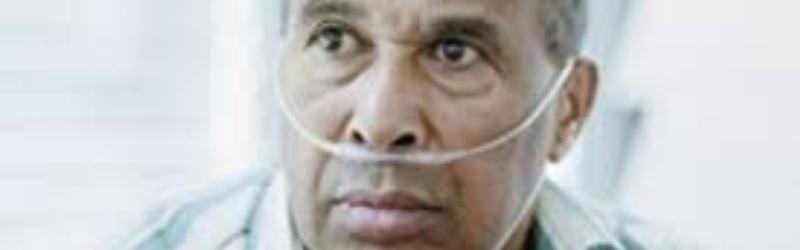 L'ossigenoterapia con gli occhialini nasali