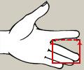 Splint estensione dito